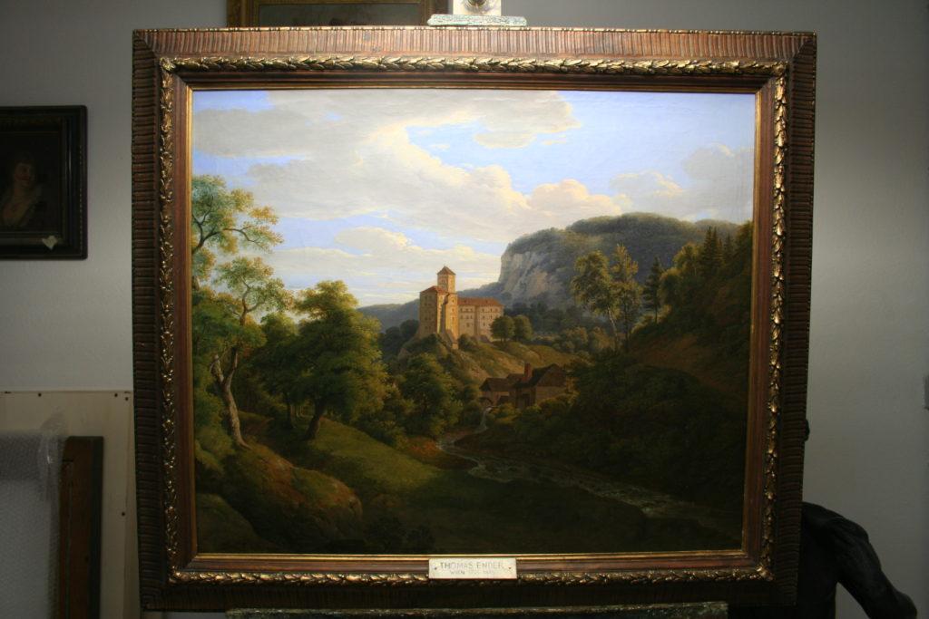 N. 1) Restaurierung von Gemälden alter Meister, Thomas Ender, 1793-1875
