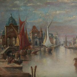 Gemälde alter Meister, Elias Pieter van Bommel 1819 – 1890