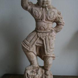 Nach Restaurierung, Terrakotta, östliche Zhou Dynastie, China 770 - 256 v. Chr.