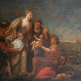 Restaurierung einer Malerei des 16. Jahrhunderts, Paolo Veronese, 1528-1588