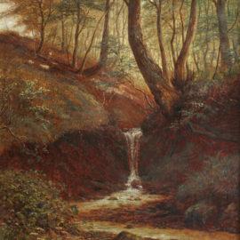 Restaurierung eines Gemäldes von William Mellor, 1851-1931